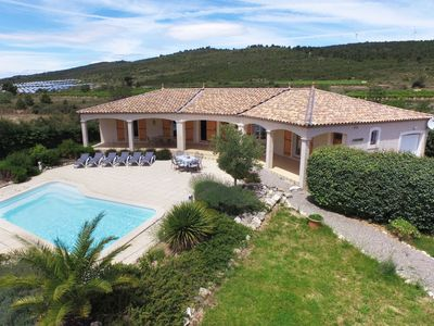 Photo for Luxury detached villa offering plenty of privacy and heated swimming pool