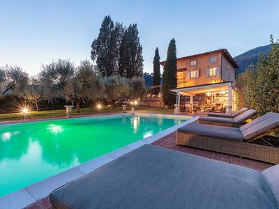 Photo for Charming & Luxury 10 Bedrooms VILLA MEDEA Close to the City Centre of Lucca