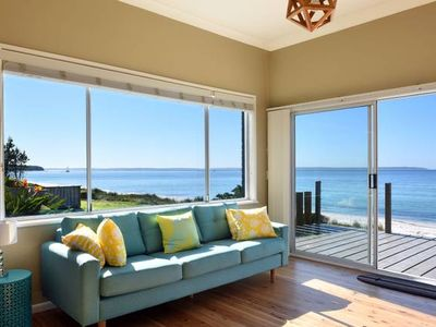Photo for ABSOLUTE BEACHFRONT & OPEN FIREPLACE AT THE BOARDWALK - CALLALA BEACH