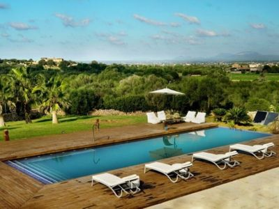 "Photo for Exclusive luxury finca ""Sa Canoveta"" with wellness infinity pool and dream view"