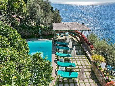 Photo for Amazing villa in Positano, with breathtaking views, swimming pool, 4 bedrooms, 8 sleeps.