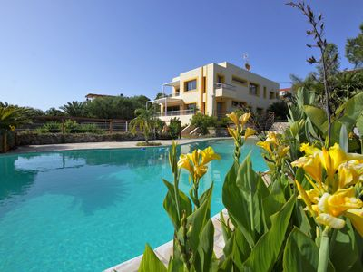 Photo for Costa Ibiza Villas - Amazing pool