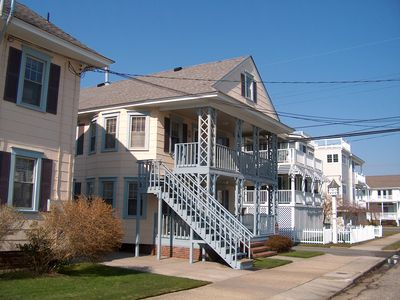 Photo for 408 Twenty Second St. 2nd Floor Unit Block To Beach And Boardwalk