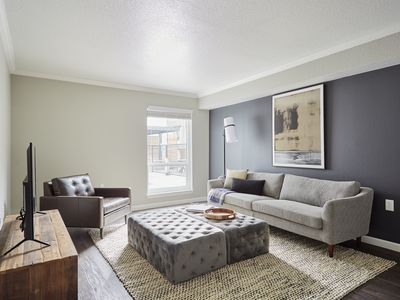 Photo for Sonder | The Weston | Desirable 1BR + Pool