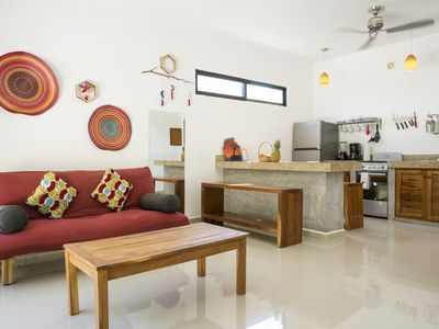 Photo for In the heart of Tulum Town - Apartment with terrace