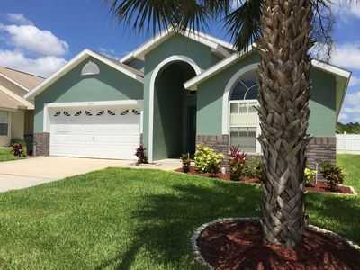 Photo for 3 Miles From Disney - Pet Friendly - Free Wifi - Grill - AC - Baby Equipment
