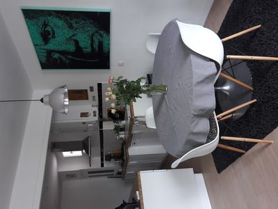 Photo for Beautiful apartment 200m from the beach
