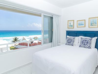 Photo for Charming Ocean Front Penthouse for Families and Friends, Nautical Soul.