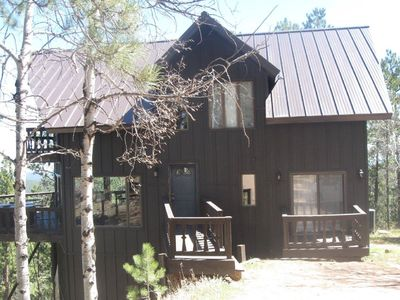 Photo for Kojak Secluded Cabin  5 miles to Lake Pactola! Hot tub! Beautiful View