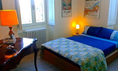 Photo for Large double room with lake view, sun terrace, big garden, breakfast included