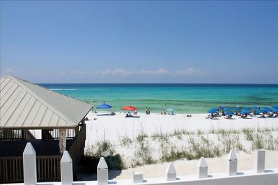 Beautifully renovated town home with amazing gulf views and Private Beach access
