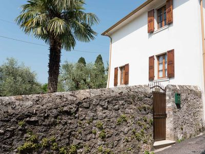 Photo for Ancient dwelling in a period village for a complete relaxation, between Lake Garda and Baldo