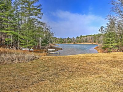 Photo for Lakefront Windham Area Home w/ Boat & Dock!