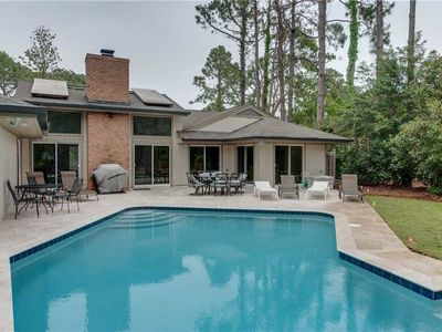 Photo for Beautifully Updated Home on the Lagoon w/ Private Pool & 2 Living Areas - Dogs Allowed!
