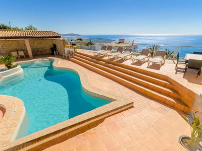 Photo for Luxury villa with breathtaking view