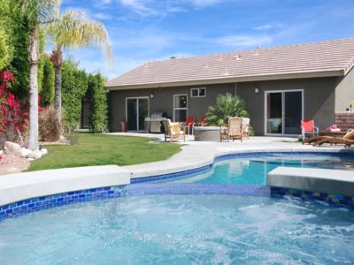 Photo for Sun Splashed & Fully Renovated Palm Springs Modern; Pool, Spa, Fire Pit