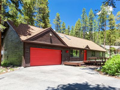 """Photo for NEW TO RENTAL MARKET! """"Snowed Inn Breckenridge"""" Cabin in the Woods"""