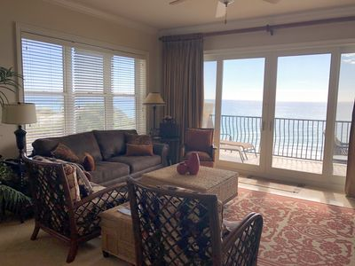 Living room with great views!