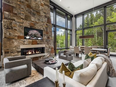 Photo for Modern Mountain Hideaway | Minutes from Utah Olympic Park | 2 Decks Above Natural Stream | Concierge