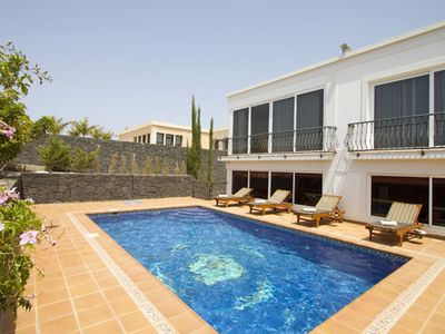 Photo for This unique villa offers both privacy and tranquillity, set in its own extensive, mature gardens wit