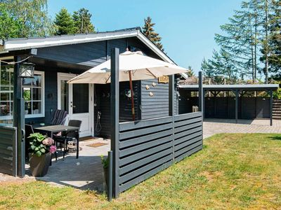 Photo for Cozy Holiday Home in Jutland with Roofed Terrace