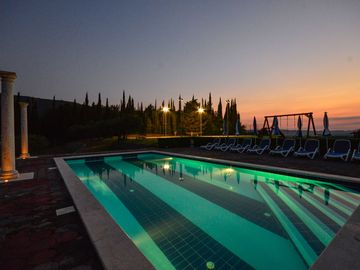 Villa with private pool,tennis,football , court,sauna, gym,jacuzzi ,3bdms,3 bath