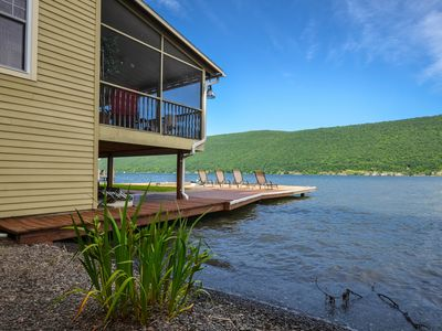 Photo for Livin' on the Edge: Spectacular Waterfront Property