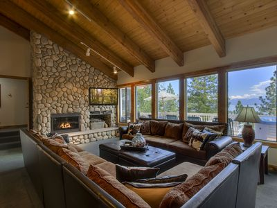 Photo for Beautiful Large Home with Views from Meeks Bay to South Shore