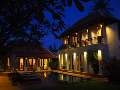 Photo for Luxury villa with private pool, set in lush tropical surroundings