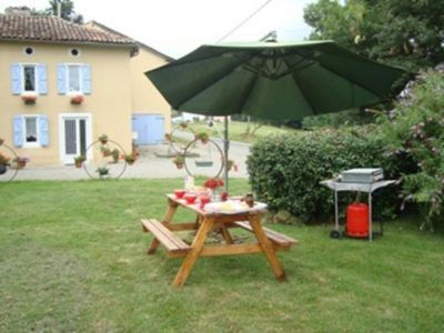 Photo for Gite Fabas, 3 bedrooms, 6 persons