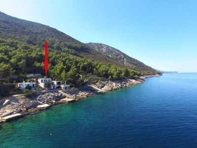 Photo for Apartment Amfora (HVR502) in Hvar/Kalober - 8 persons, 4 bedrooms