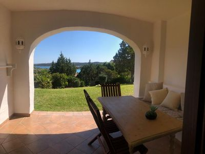 Photo for The Oleanders, app. 139 with enchanting sea view, Costa Smeralda