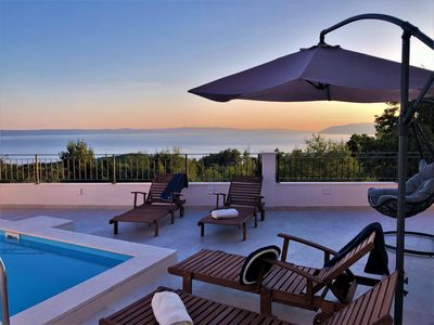 Photo for Villa Apollon with pool, Jacuzzi, infrared cabin and fitness