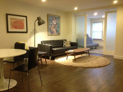Photo for Sunny, Newly Renovated Family-Friendly 2 Bedroom Garden Apartment For Rent