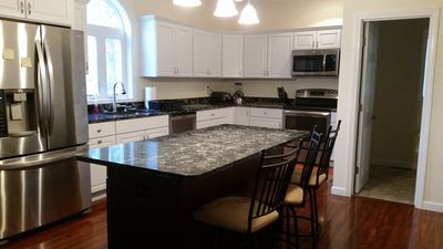 6 BEDROOM, 5 BATH, NEW HOME CLOSE TO PUBLIC BEACH ON 2 ACRES, 1 MILE TO CENTER