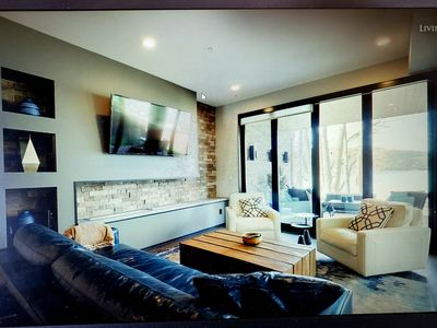 Photo for Whitefish MT New Contemporary Condo on Whitefish Lake 3 bed, 3 full bath