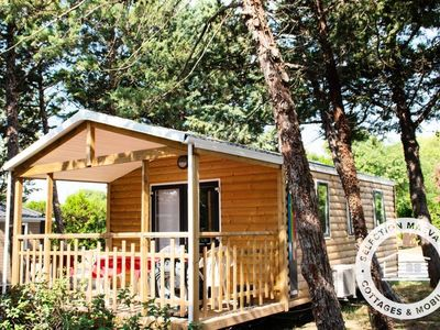 Photo for Camping Les Hautes Prairies *** - Maeva Camping - Air-conditioned mobile home Panoramic 3 rooms 4 persons