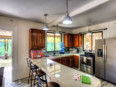 Photo for Walk to the OCEAN, WIFI, CABLE TV,  Bar,  upstairs lock off accommodates 10