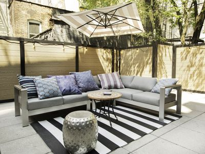 Photo for 3 lux Bedrooms with private outdoor space