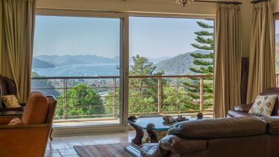 Photo for Panoramic sea view of Gocek Bay and Islands