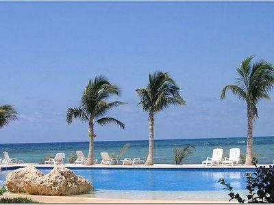 Photo for Puerto Aventuras, Chac Hal Al, quiet, luxury, marina, steps from beach