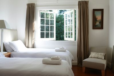 Hiwi's bedrooms are beautifully appointed.