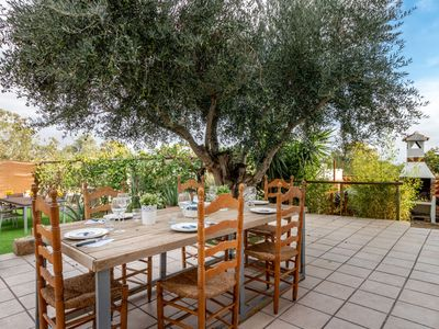 Photo for This 6-bedroom villa for up to 12 guests is located in Siurana d'Emporda and has a private swimming