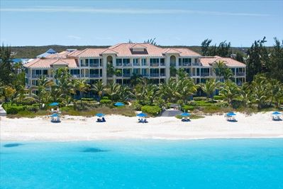 Our Grace Bay beach-voted #1 beach in the world by Trip Advisor