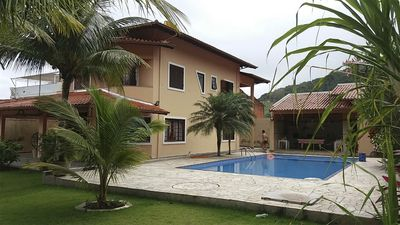 Photo for BEAUTIFUL HOUSE WITH POOL, CHURRASQUEIRA AND SINUCA - BEACH OF BAREQUEÇABA.