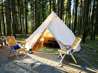 Photo for Luxury Tent Oasis: Experience Tranqulity