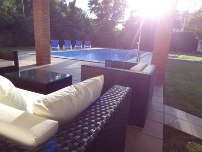 Photo for Private luxury villa with large garden and pool, enjoy with your family - WIFI