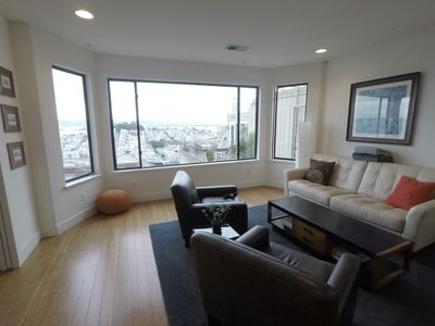 Photo for Chic Space with Incredible Views Russian Hill Vista