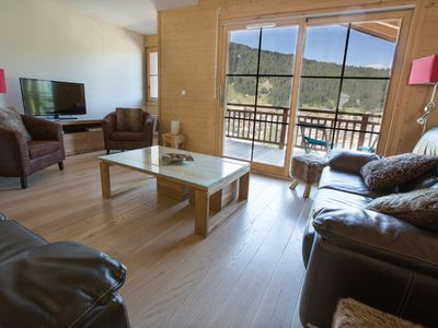 Photo for Apartment In Morzine Centre, Amazing Views