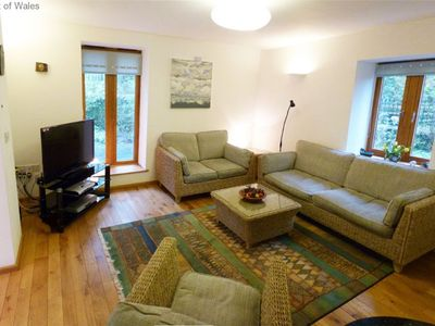 Photo for Hafan Myrddin is a contemporary, quality and comfortable eco-friendly cottage with wood burner and a